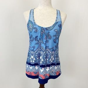 In Bloom by Jonquil Small Shirt Tank Top Blue